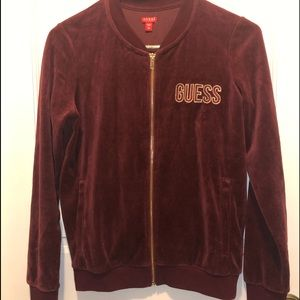 Guess Velour Jacket